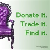 Donate it. Trade it. Find it.