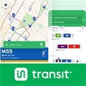 Map and Transit App logo