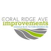 Coral Ridge Ave improvements