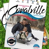 Cover with people sledding