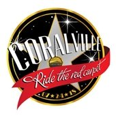 Coralville Ride the Red Carpet logo