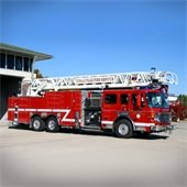 CFD ladder truck