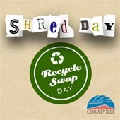 Shred Day Recycle Swap Day