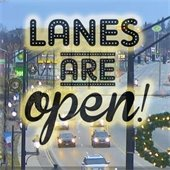 Lanes are open