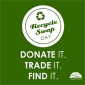 Donate it. Trade it. Find it. Recycle Swap Day