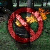 No open burning