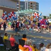 Parade and balloons