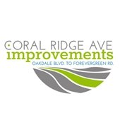 Coral Ridge Ave improvments logo