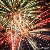 Fireworks photo Bob Rude
