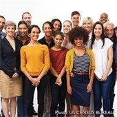 People. Photo credit US Census Bureau