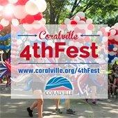 Coralville 4thFest www.coralville.org/4thFest