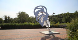 Iowa River Landing Sculpture Walk