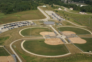 Coralville Youth Sports Complex Aerial 3