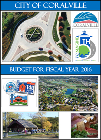 FY 2016 Budget Cover