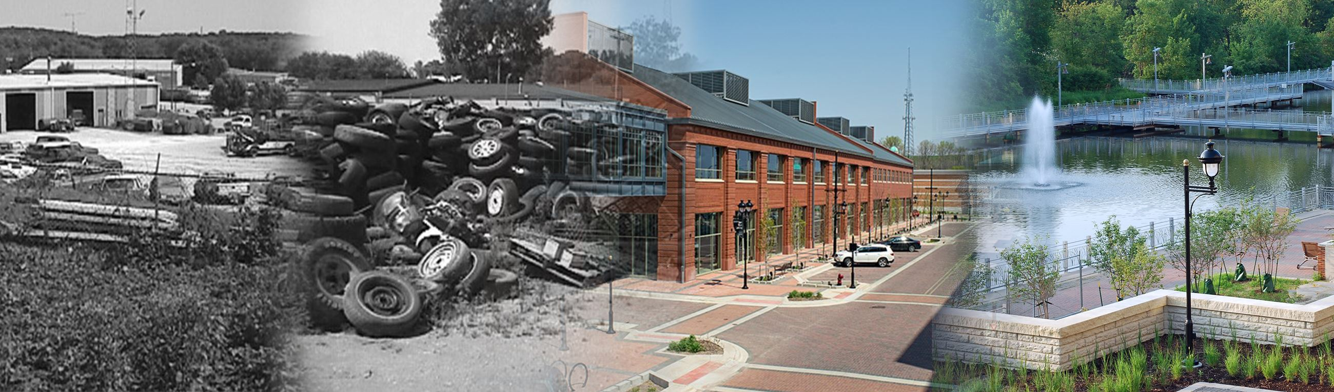 TIF before and after: Iowa River Landing