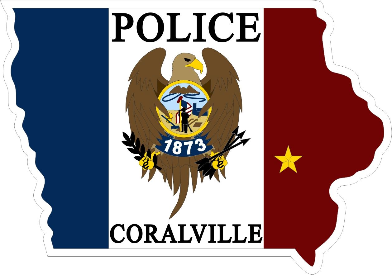 CORALVILLE POLICE 1873