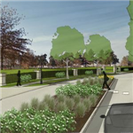 Russel Slade Blvd. Streetscape Visualization