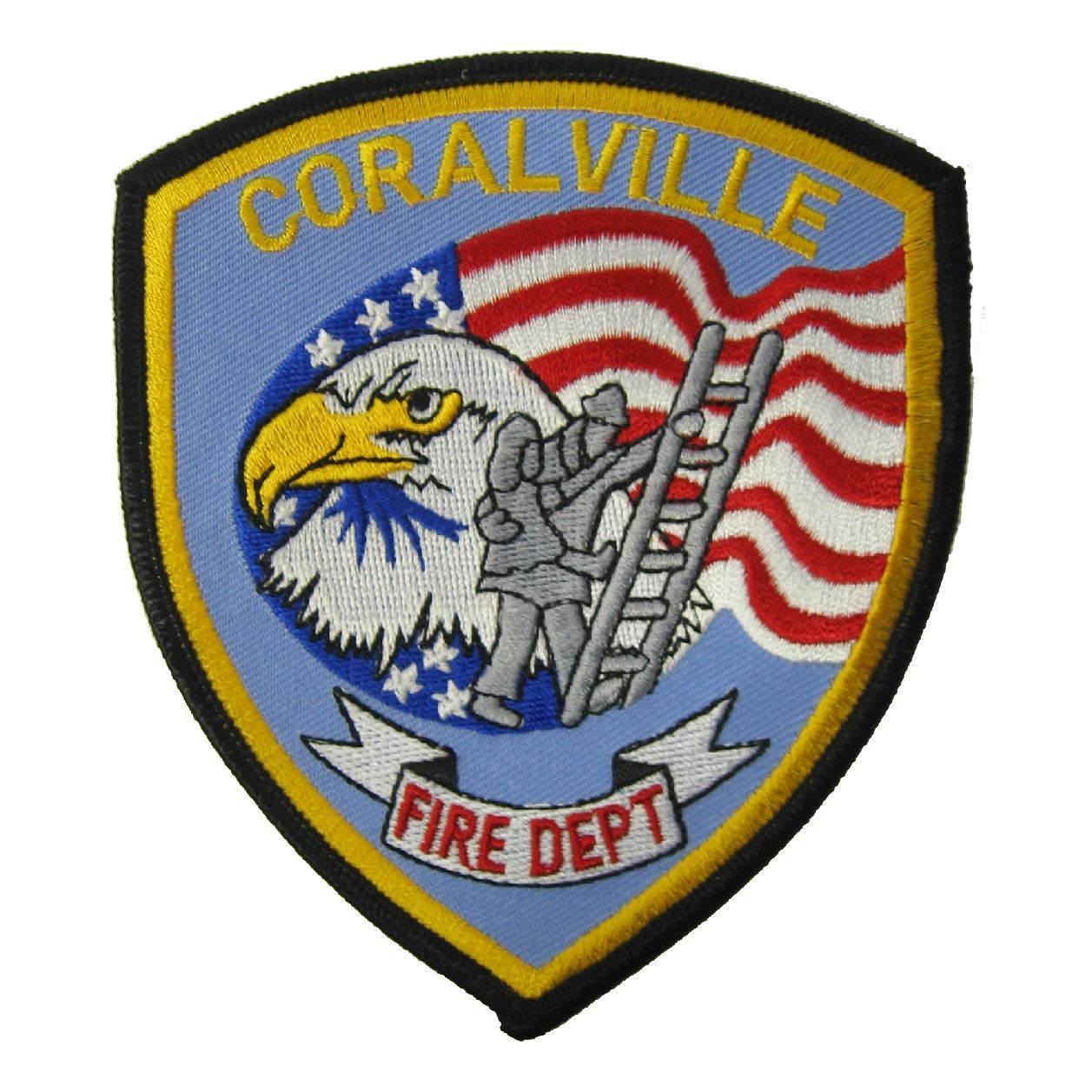 Coralville FD Badge