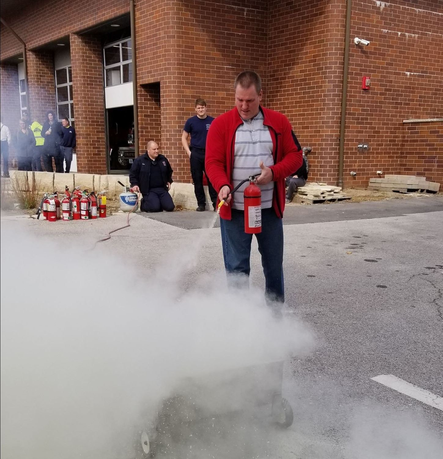 Fire extinguisher training1