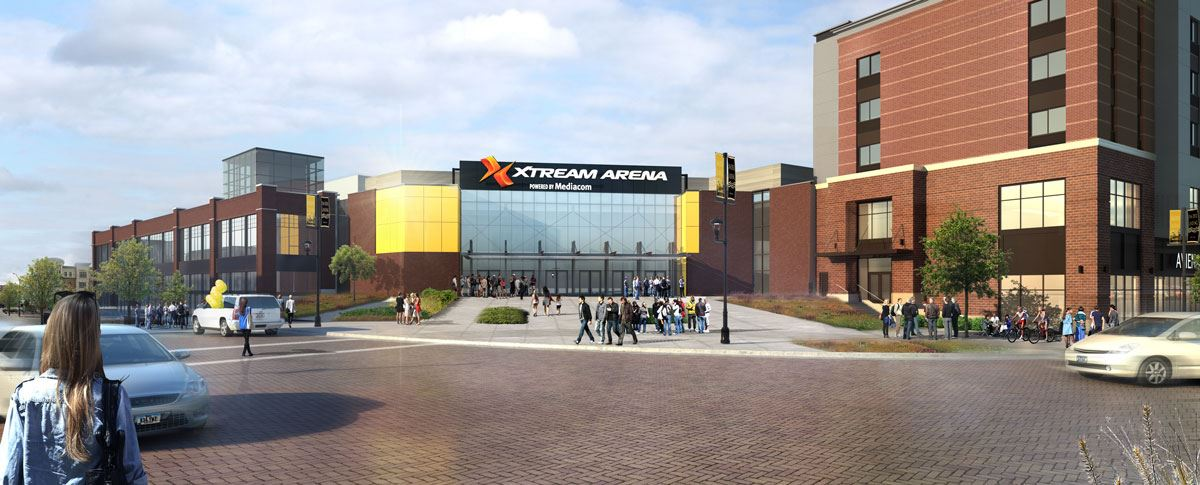 Xtream Arena Entry