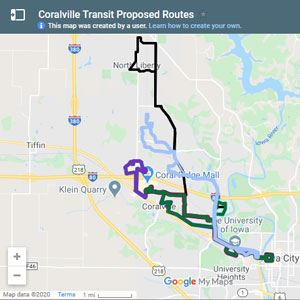 Bus routes thumbnail