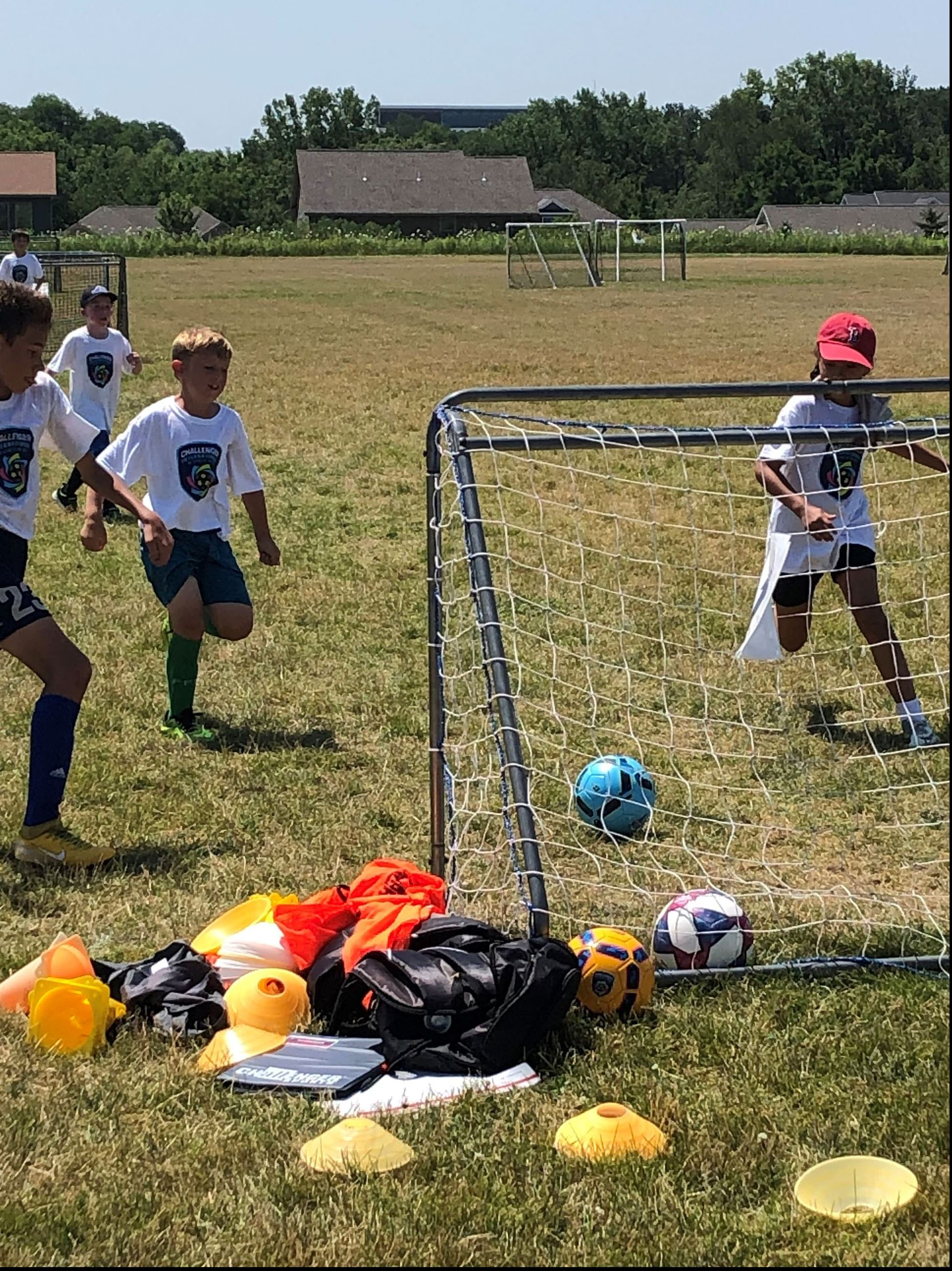 2019 Challenger Sports soccer camp
