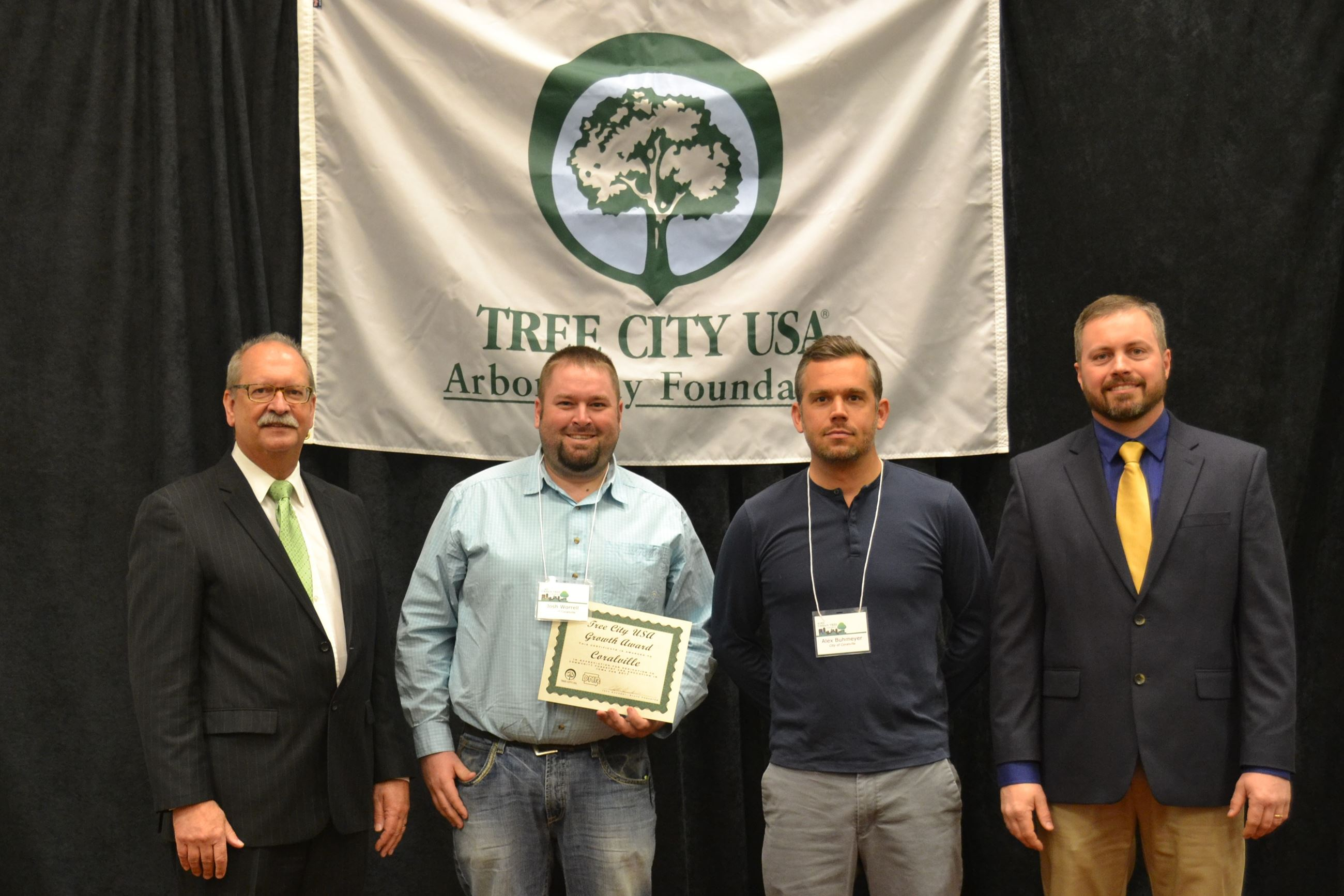 Tree City USA award 2018