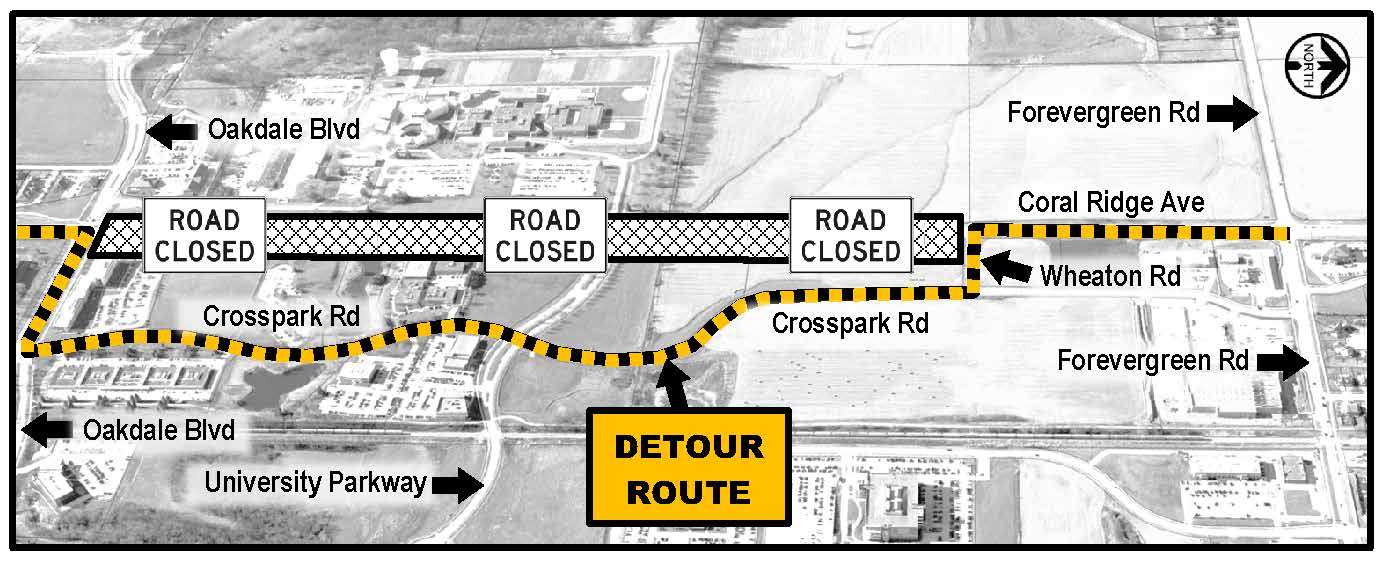 Coral Ridge Ave Detour