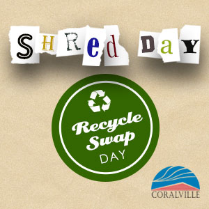 Shred and Recycle Swap days